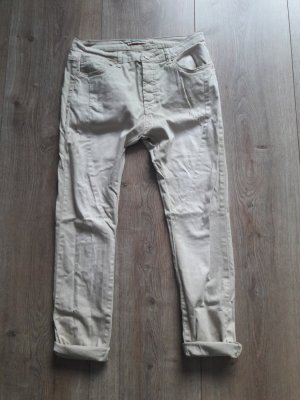 Made in Italy Pantalon boyfriend crème-beige clair