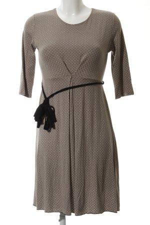 Made in Italy Jerseykleid Punktemuster klassischer Stil