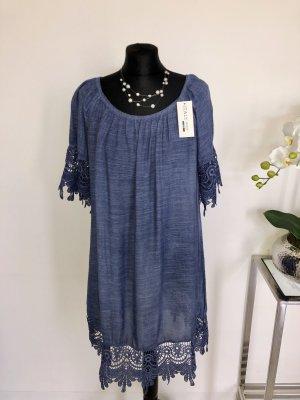 Made in Italy Kleid mit Spitze neu
