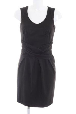 Made in Italy Kurzarmkleid schwarz Elegant