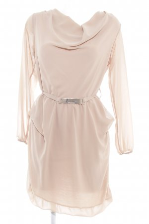 Made in Italy Langarmkleid beige Casual-Look