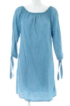 Made in Italy Minikleid blau Casual-Look
