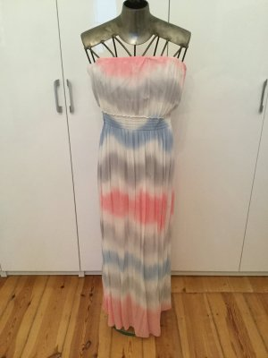 Made in Italy Bandeau Dress multicolored
