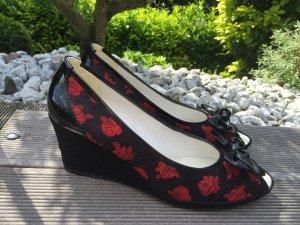 Made in Italy: Schuhe mit Keilabsatz