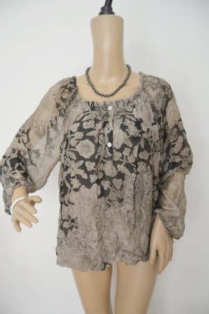 Made In Italy Seide Bluse