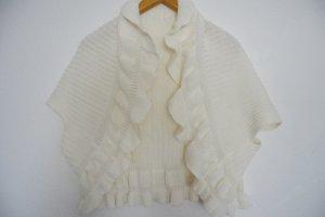 Made in Italy Maglione di lana bianco sporco