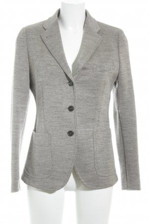 Made in Italy Blazer en maille tricotée gris brun style décontracté