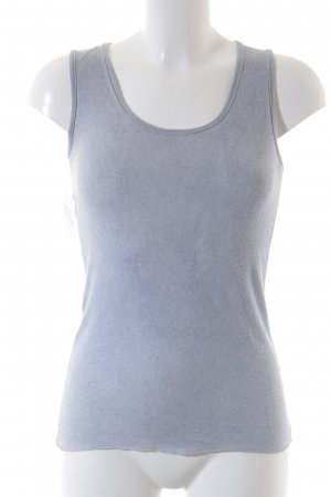 Made in Italy Tanktop himmelblau Casual-Look