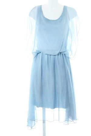 Made in Italy Trägerkleid graublau Elegant