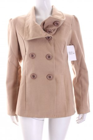 Made in Italy Wollmantel creme Street-Fashion-Look