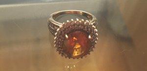 Vintage Gold Ring gold-colored-dark orange real gold