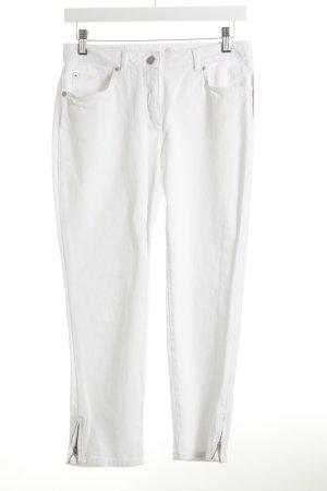 Madeleine 3/4 Jeans weiß Casual-Look