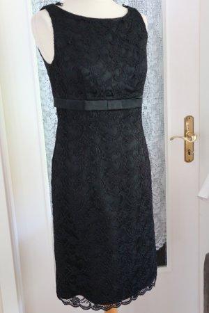 MADELEINE Abendkleid Cocktailkleid Damenkleid Spitzenkleid - schwarz - Gr.36