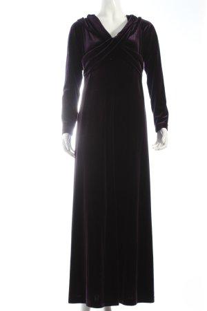 Madeleine Abendkleid dunkelviolett-braunviolett Eleganz-Look