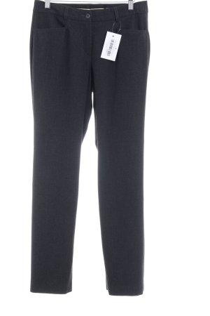 Madeleine Pantalon de costume gris anthracite style d'affaires