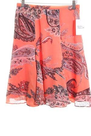 Madeleine Asymmetrie-Rock florales Muster Gypsy-Look
