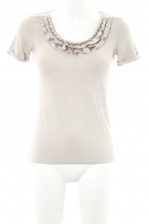 Madeleine Basic Top beige-hellbeige Casual-Look