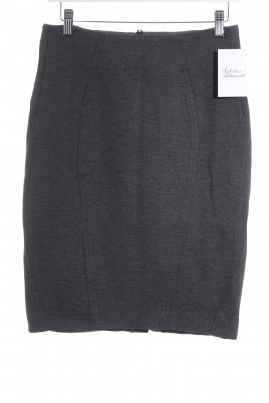 Madeleine Bleistiftrock grau-schwarz schlichter Stil