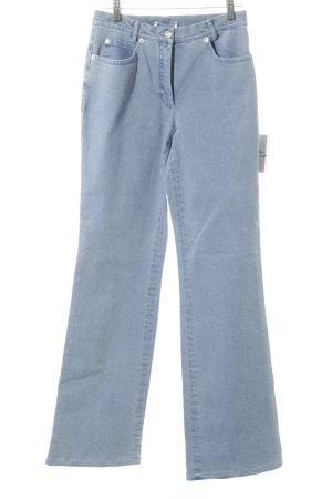 Madeleine Boot Cut Jeans blassblau schlichter Stil