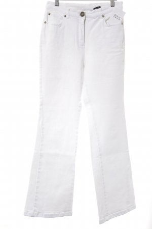Madeleine Boot Cut Jeans weiß Casual-Look