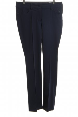 Madeleine Pantalone a pieghe blu neon stile professionale