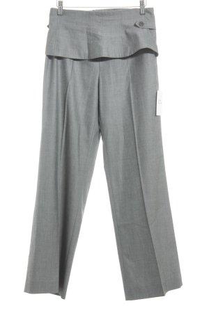 Madeleine Pantalone a pieghe grigio stile professionale