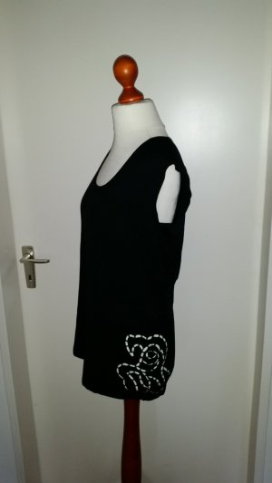 Madeleine A Line Top black viscose