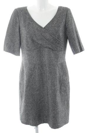 Madeleine Manteljurk grijs gestippeld zakelijke stijl