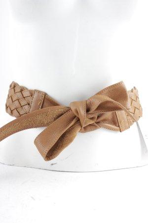 Madeleine Braided Belt cognac-coloured Boho look