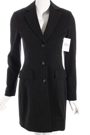 Madeleine Gehrock schwarz-grau Nadelstreifen Business-Look