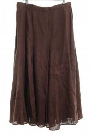 Madeleine Godet Skirt brown Boho look