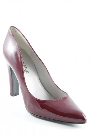 Madeleine High Heels bordeauxrot Elegant