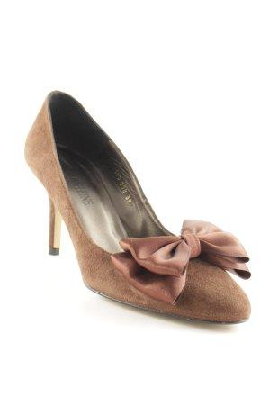 Madeleine High Heels braun Elegant