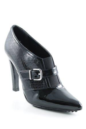 Madeleine Talons hauts noir-argenté élégant