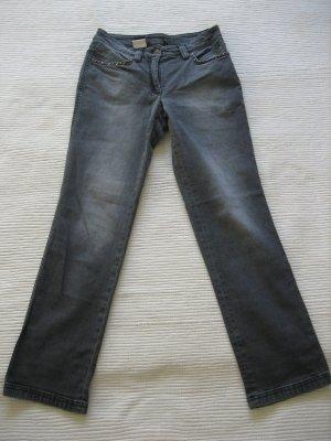 madeleine hose grau jeans neuwertig gr. s 36