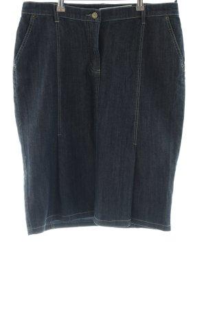 Madeleine Gonna di jeans nero stile casual