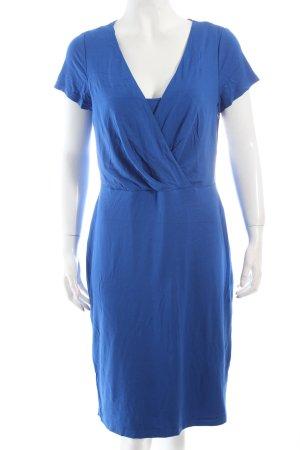 Madeleine Jerseykleid blau klassischer Stil
