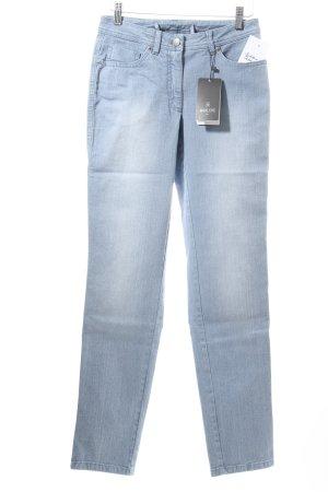 """Madeleine Karottenjeans """"Jeans bleached"""" kornblumenblau"""