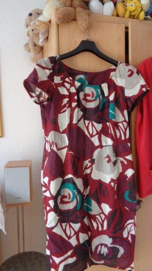 Madeleine Abito linea A multicolore Cotone