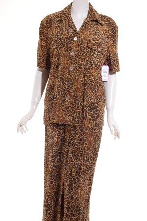 Madeleine Kostüm Leomuster Safari-Look