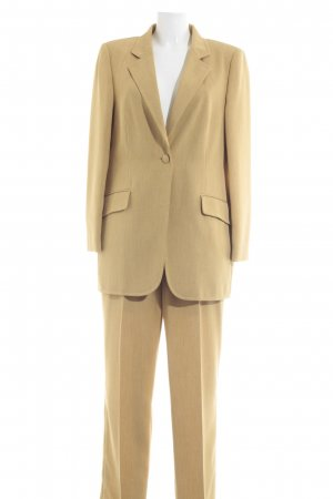 Madeleine Ladies' Suit sand brown-oatmeal flecked casual look