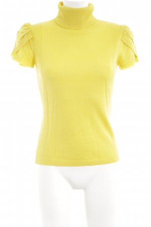 Madeleine Short Sleeve Sweater primrose casual look