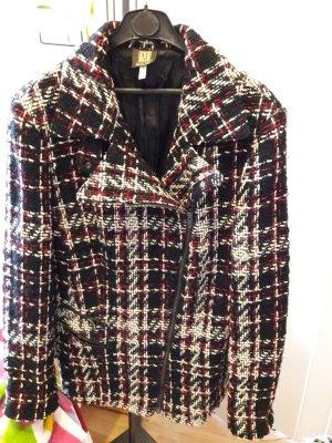 Madeleine Short Coat multicolored wool