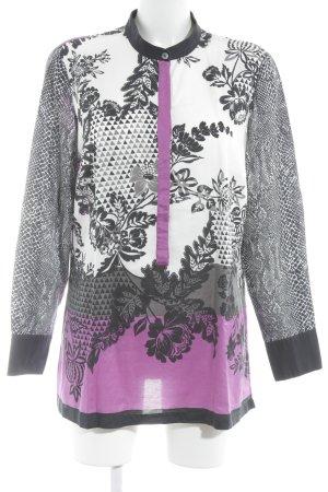 Madeleine Langarm-Bluse florales Muster extravaganter Stil