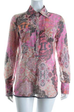 Madeleine Langarm-Bluse florales Muster Hippie-Look