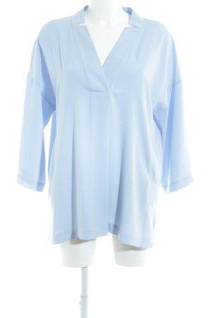 Madeleine Langarm-Bluse himmelblau Elegant