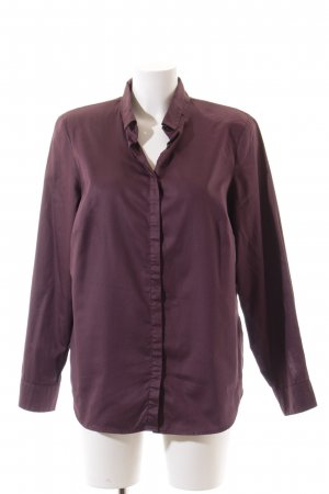 Madeleine Langarm-Bluse purpur klassischer Stil