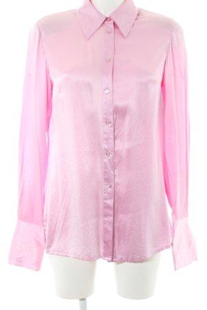 Madeleine Langarm-Bluse rosa 90ies-Stil