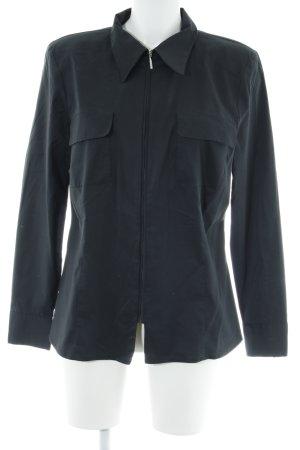 Madeleine Langarm-Bluse schwarz Elegant