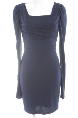 Madeleine Langarmkleid dunkelblau Elegant